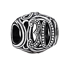 Chamilia Sterling Silver Filigree 30 Milestone Bead - Product number 3473546