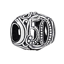 Chamilia Sterling Silver Filigree 50 Milestone Bead - Product number 3473562