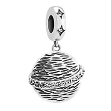 Chamilia Silver & Swarovski Crystal My Universe Bead - Product number 3473589