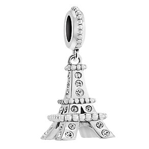 Chamilia Silver & Swarovski Crystal Eiffel Tower Bead - Product number 3473694