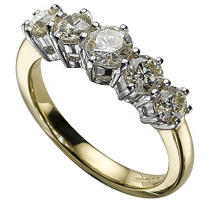 18ct Gold 1 Carat Ring