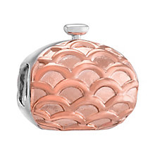 Chamilia Silver & Rose Gold Plated Evening Bag Bead - Product number 3473945