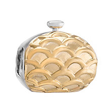 Chamilia Silver & Yellow Gold Plated Evening Bag Bead - Product number 3474003
