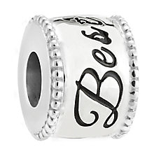 Chamilia Inseparable sterling silver and diamond charm - Product number 3474445