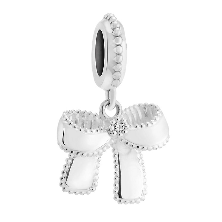 Chamilia Charming diamond accented sterling silver charm - Product number 3474658