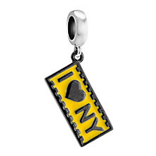 Chamilia I Love New York sterling silver charm - Product number 3474836