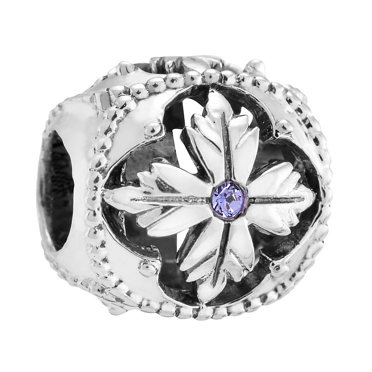 Chamilia Silver & Purple Swarovski Crystal Enlighten Bead - Product number 3475603
