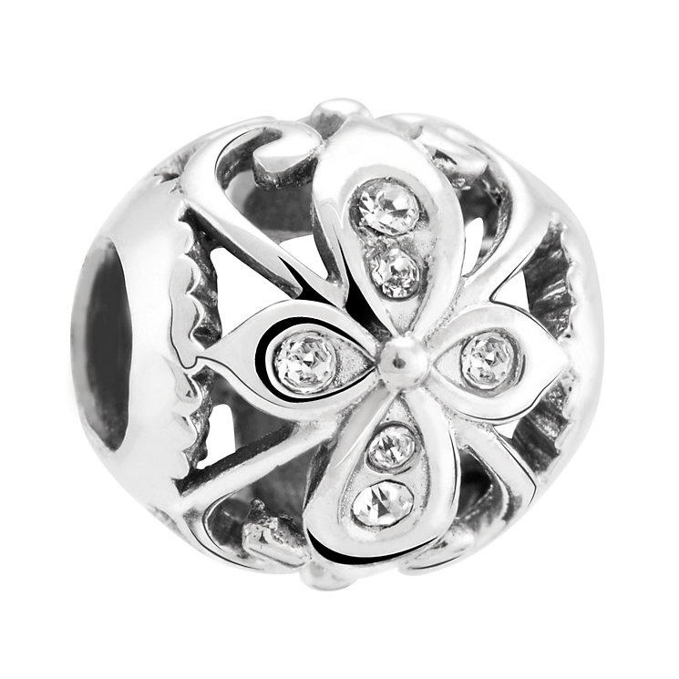 Chamilia Sterling Silver & Swarovski Crystal Truth Bead - Product number 3475646
