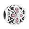 Chamilia Silver & Rose Swarovski Crystal Truth Bead - Product number 3475662