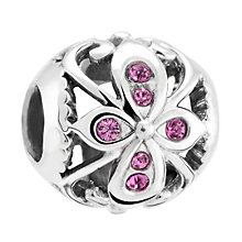 Chamilia Silver & Amethyst Swarovski Crystal Truth Bead - Product number 3475700