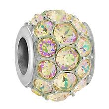 Chamilia Silver & Green Swarovski Crystal Splendor Bead - Product number 3475743