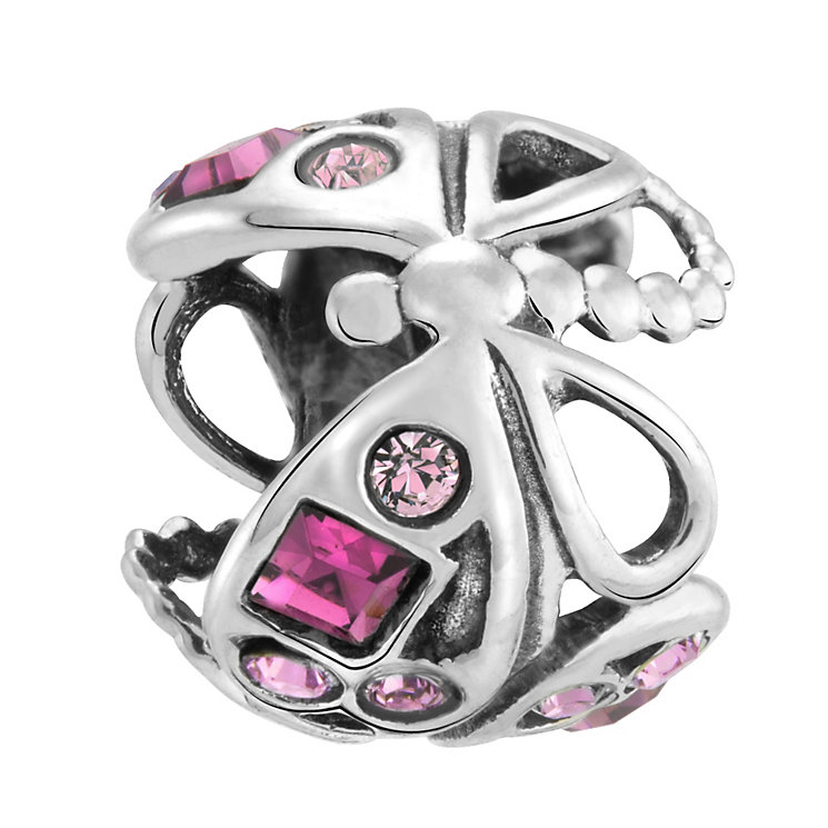 Chamilia Silver & Swarovski Crystal Dragonfly Bead - Product number 3475751