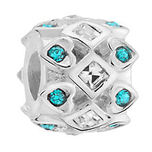 Chamilia Swarovski Crystal Queen Of Hearts Spacer Bead - Product number 3475840