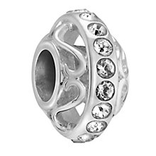 Chamilia Silver & Swarovski Crystal Lavish Bead - Product number 3475883