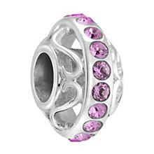 Chamilia Silver & Amethyst Swarovski Crystal Lavish Bead - Product number 3475905