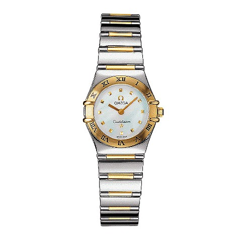 Omega Constellation My Choice ladies' two-colour watch