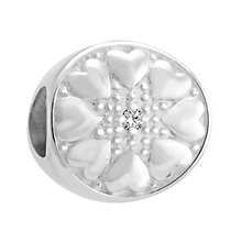 Chamilia Sterling Silver & Diamond Wheel Bead - Product number 3476480