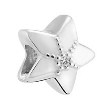Chamilia Sterling Silver & Diamond Star Bead - Product number 3476553