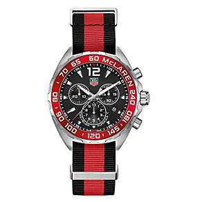 TAG Heuer F1 men's stainless steel fabric strap watch - Product number 3476642