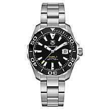TAG Heuer Aquaracer Men's Stainless Steel Bracelet Watch - Product number 3477061
