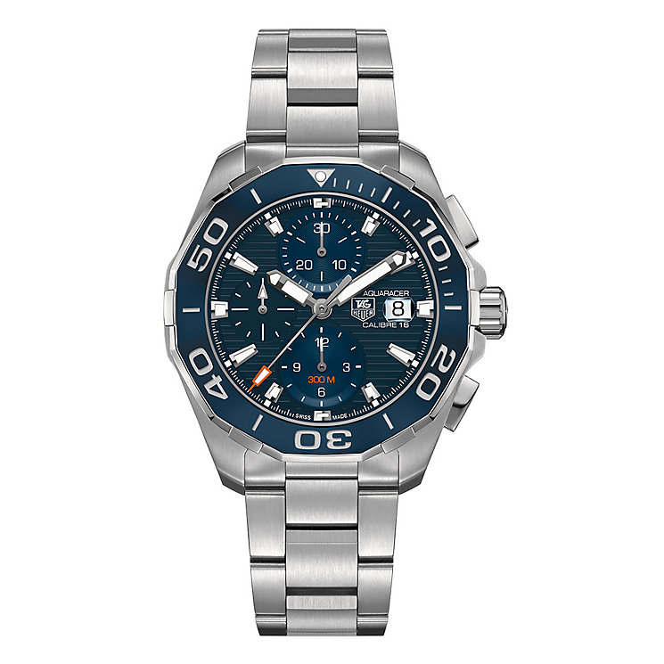 TAG Heuer Aquaracer Men's Stainless Steel Bracelet Watch - Product number 3477126