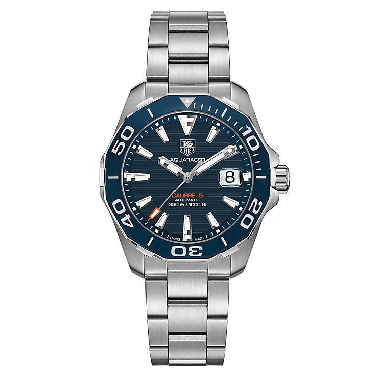 TAG Heuer Aquaracer Men's Stainless Steel Bracelet Watch - Product number 3479005