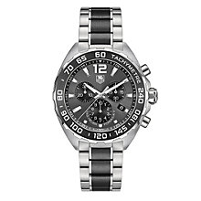 TAG Heuer F1 men's two colour bracelet watch - Product number 3479072