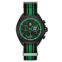 TAG Heuer F1 men's ion-plated black strap watch - Product number 3479080