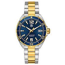 TAG Heuer Formula 1 men's two colour bracelet watch - Product number 3479153