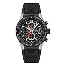 TAG Heuer Carrera Men's Stainless Steel Strap Watch - Product number 3479161