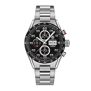 TAG Heuer Carrera men's ion plated black bracelet watch - Product number 3479196