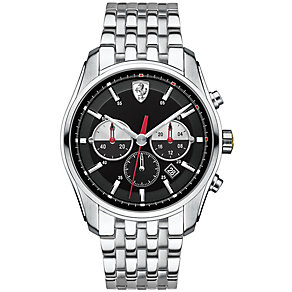 Scuderia Ferrari men's stainless steel bracelet watch - Product number 3479323