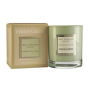 Fired Earth Wax Lyrical Peppermint & Thyme Candle - Product number 3480623