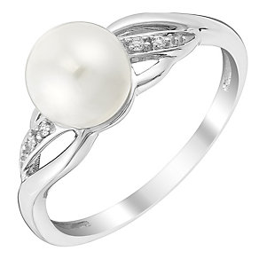 Sterling Silver Green Pearl Pendant - Product number 3487180