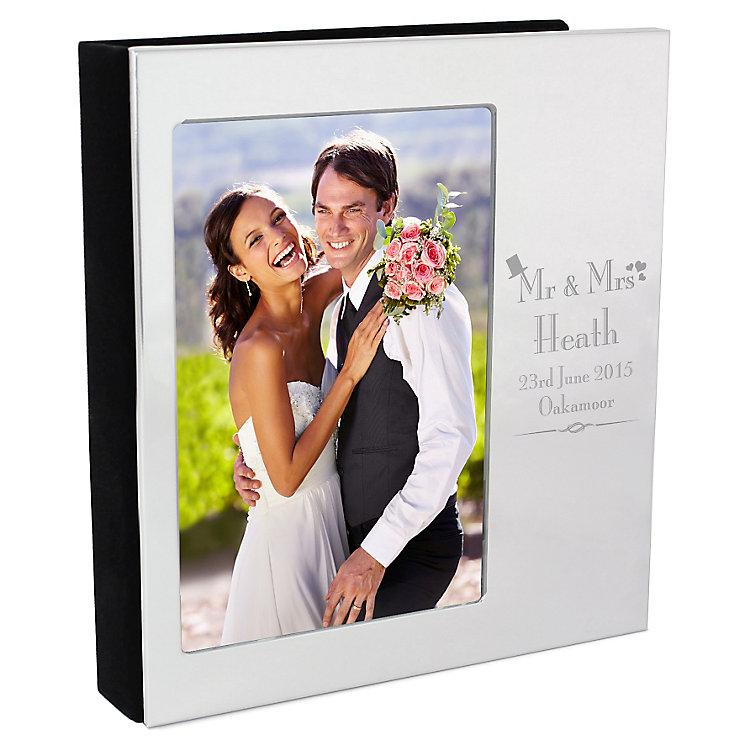 Decorative Wedding Day 6x4 Photo Album - Product number 3487733