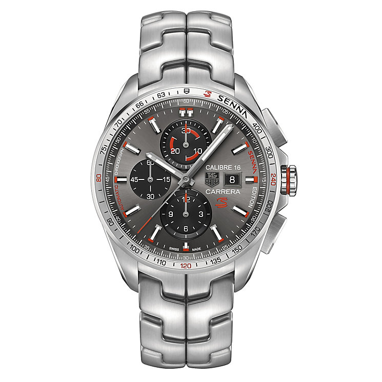TAG Heuer Carrera Men's Stainless Steel Bracelet Watch - Product number 3507920