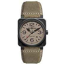 Bell & Ross limited edition men's ion plated strap watch - Product number 3511235