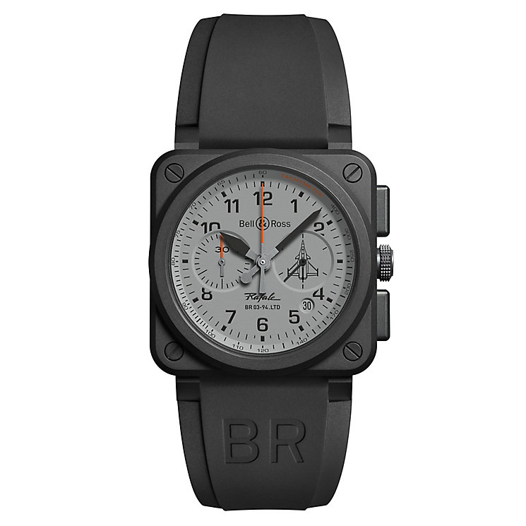 Bell & Ross BR 03 Rafale men's black ceramic  watch - Product number 3511278