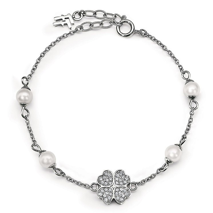 Folli Follie Eternal Heart silver-plated bracelet - Product number 3512215