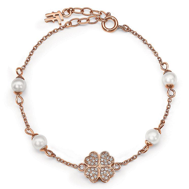 Folli Follie Eternal Heart rose gold plated bracelet - Product number 3512223