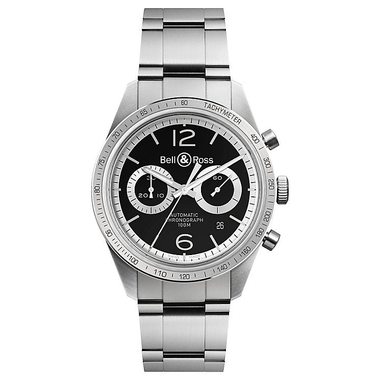 Bell & Ross BRV126 men's stainless steel bracelet watch - Product number 3512479