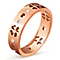 Folli Follie Love & Fortune rose gold-plated ring size L 1/2 - Product number 3513009