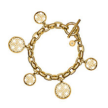 Michael Kors Gold Tone Charm Bracelet - Product number 3513521