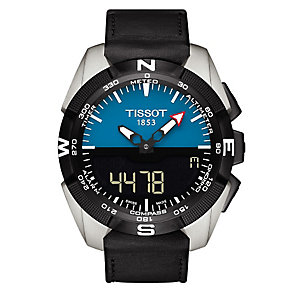 Tissot T- race men's stainless steel black strap watch - Product number 3517462