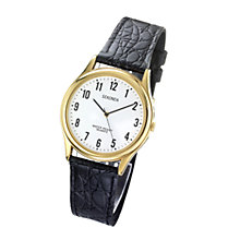 Sekonda Men's Black Leather Strap Watch - Product number 3517985