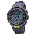 Casio Pro Trek Men's Stainless Steel Multi-Function Watch - Product number 3518558