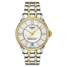 Tissot Chemin de Tourelles men's two colour bracelet watch - Product number 3518892