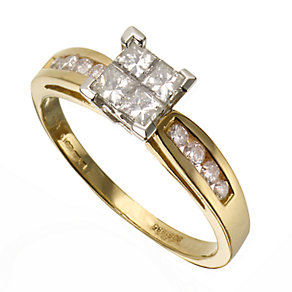 18ct Gold 0.60 Carat Diamond Ring - Product number 3528022