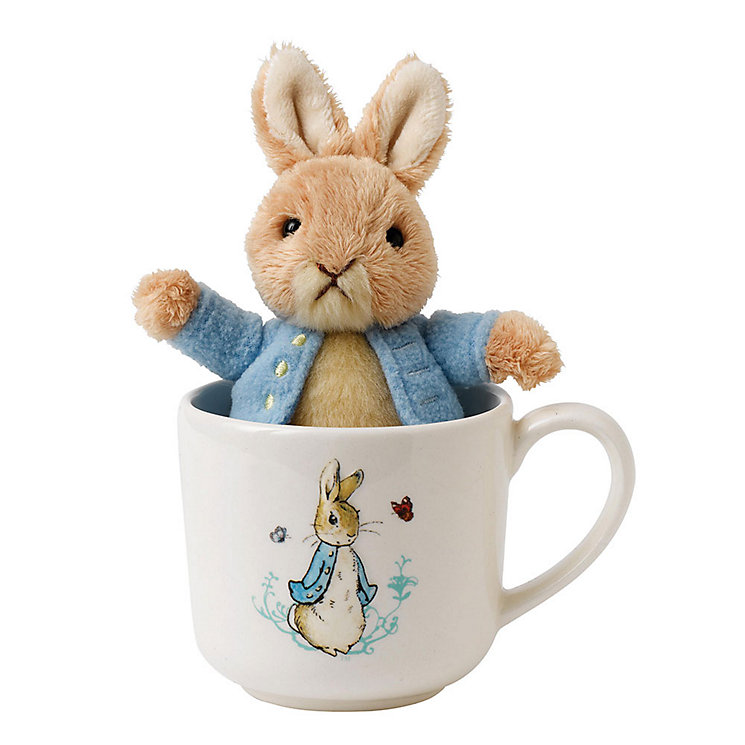 Peter Rabbit Plush Toy & Mug Set - Product number 3529851