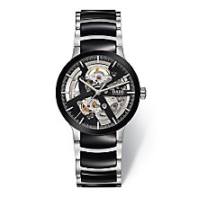 Rado Centrix men's skeleton two colour bracelet watch - Product number 3542157